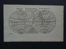 1761 WELLS Atlas World map Orbis Terrarum Graecis Latinis  California as Island