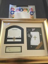 """Confirmation Framed & Matted picture frame with numbers 6:24 verse 12""""x10"""""""