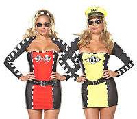 Reversible Racecar/Taxi Driver Costume, Dreamgirl 5866X, Plus Size 1X/2X, 3X/4X