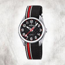 Relojes de pulsera fechos niños de tela/cuero