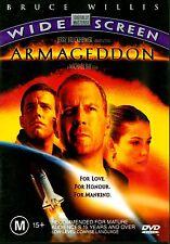 ARMAGEDDON - Widescreen Edition Bruce Willis Sci-Fi Thriller  DVD Region 4