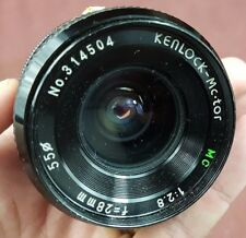 Kenlock 28 mm camera lens, Pentax K-Mount, fits Pentax DSLR