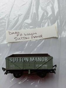 DAPOL Model Railways OO GAUGE - P O wagon - Sutton Manor /St Helens - no box