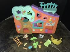 LPS Littlest Pet Shop Clubhouse Treehouse Playset 2007 Hasbro Complete