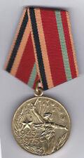 Soviet Medal - 30th Anniv. Victory Great Patriotic War - Civilian -  B7928