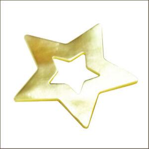 Ehinger Schwarz 1876 - Charlotte Golden Mother of Pearl 5 Point Star 28mm