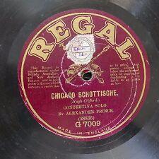 78rpm ALEXANDER PRINCE concertina , chicago schottische / jackanapes polka