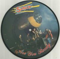 Samson - Are You Ready 1984 7 inch vinyl picture disc single