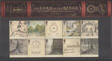 GB 2004 Lord of the Rings/Tolkein/Books/Literature/Magic/Films 10v P Pack n41875