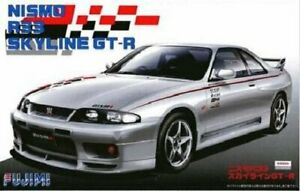 Fujimi ID-157 1/24 Scale Model Sports Car Kit Nismo Nissan Skyline GT-R R33