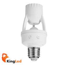 Détecteur Du capteur Présence PIR pour Lampes E27 220V Max 60W