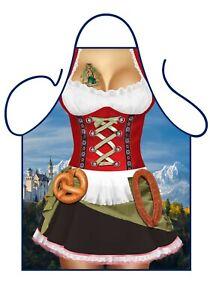 Oktoberfest, Bavarian Girl novelty apron. Great for Secret Santa Gift.