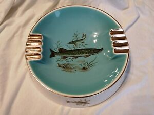 Vintage Liverpool Road Pottery Large Ashtray