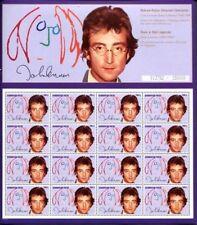 Azerbaijan - 1995 John Lennon Stamps - Sheetlet of 16 Scott #546