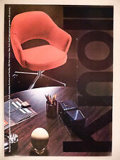 Saarinen Chair PRINT AD - 1969 ~ Knoll International Furniture