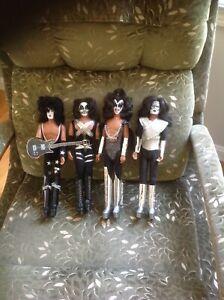 Mego 1978 Kiss Dolls MINT