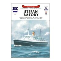 "GENUINE PAPER-CARD JSC MODEL KIT- Transatlantic liner ""STEFAN BATORY"""
