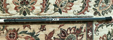 Stx Slant 10 degree women's lacrosse shaft Black, Silver, and Gray with adapter