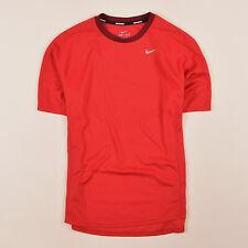 Nike Herren T-Shirt Shirt Classic Gr.M Running Dri-Fit Rot, 70053