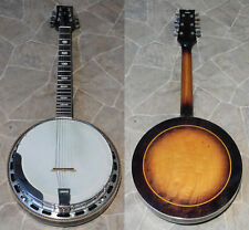 vintage ARIANA shortscale Gitarrenbanjo 6string Banjitar Resonator Banjo Korea
