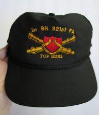 f8b04e2b7d5 1ST BN 321ST FA TOP GUNS STRAPBACK ROPE HAT CAP