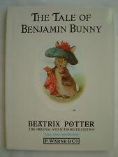 The Tale of Benjamin Bunny by Beatrix Potter (Hardback, 1987)