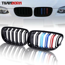 for 2009-2011 BMW E90 E91 LCI 325i 328i 4D Double Line Kidney Grille M Color