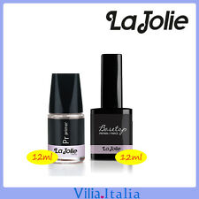 Kit Smalto Semipermanente - Primer 12ml + Base&Top 12ml La Jolie