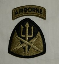 US ARMY PATCH ,JFCOM/SOC,JOINT FORCES CMD, SPEC OPS CMD, MULTICAM , WITH VELCR