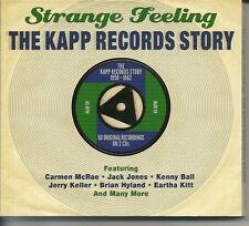 STRANGE FEELING THE KAPP RECORDS STORY 1958 - 1962 - 2 CD BOX SET