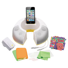 Brand New iCoustic 10 in 1 Accessory Kit for iPod Touch - White IC092