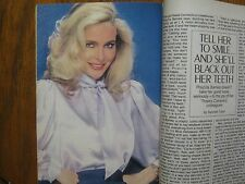 1982  TV  Guide (PRISCILLA  BARNES/MERYL  STREEP/KING'S  CROSSING/BERT  CONVY