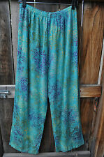 ART TO WEAR 4 PANT IN ALL NEW TIBURON BY MISSION CANYON,ONE SIZE, NWT!