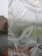2m  DC FIX WHITE FROSTED GLASS EFFECT STICKY BACK PLASTIC SELF ADHESIVE VINYL