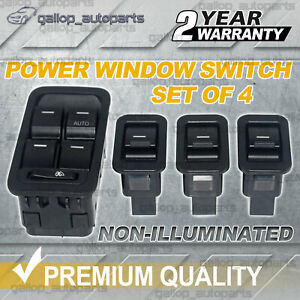 For Ford Territory SX SY SZ Master +3 Single Power Window Switch Non-illuminated