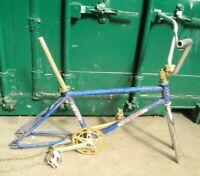 Nishiki BMX frame & forks, old-school