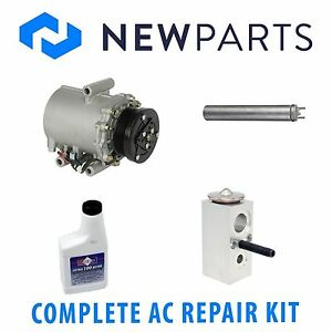 For 2002-2005 Buick Rendezvous A//C Compressor Kit 58385GQ 2003 2004 3.4L V6