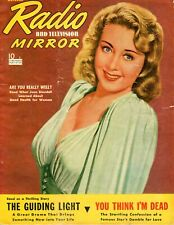 Joan Blondell 1940 Radio And Television Mirror Magazine Complete Issue