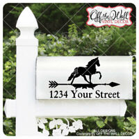 "Includes 2 Farmhouse Styled Weathervane ""HORSE"" Mailbox Lettering #WHD1"
