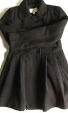 Cute! Juniors Size Medium Black Xhilaration Winter Tart Coat