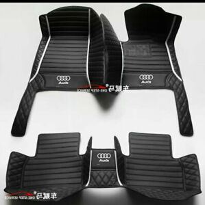 For Audi-A1-A2-A3-A4-A5-A6-A7-A8-Q1-Q2-Q3-Q5-Q7-Q8-TT Car Mats-Right-hand drive