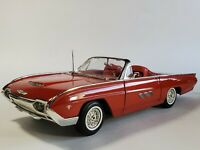 Ertl 1963 Ford Thunderbird Sports Roadster  Red 1:18 Scale Diecast Model Car