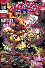 Demon #6  Hell Is Earth DC COMICS  COVER A 1ST PRINT