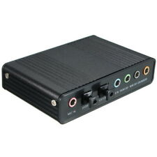 USB 5.1 External Channel Optical Audio Sound Card Adaptor for Laptop Notebook PC
