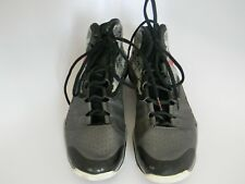 Mens Under Armor Clutch Fit Gray & Black Basketball Shoes Sneakers Size 8.5