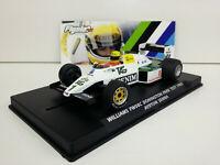 Slot car Scalextric Flyslot W40101 Williams FW08C Donington Park 1983 A.Senna