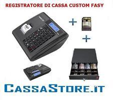 REGISTRATORE DI CASSA SCONTRINO DI CORTESIA CUSTOM FASY WINDKEY LITE + CASSETTO