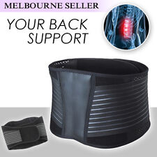 Premium Lumbar & Lower Back Support Belt Brace Strap Posture Waist Trimmer OZ