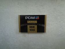 Vintage Audio Cassette PDM ME Metal 100 * Rare From 1990 *
