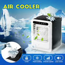 Portable Air Conditioner Cooler Fan Humidifier Cooling Cool Home 3-levels Speed